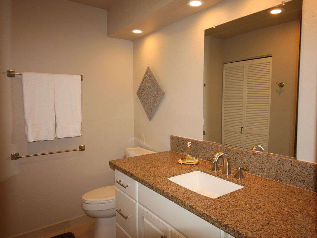 Master bath has a full size washer & dryer.