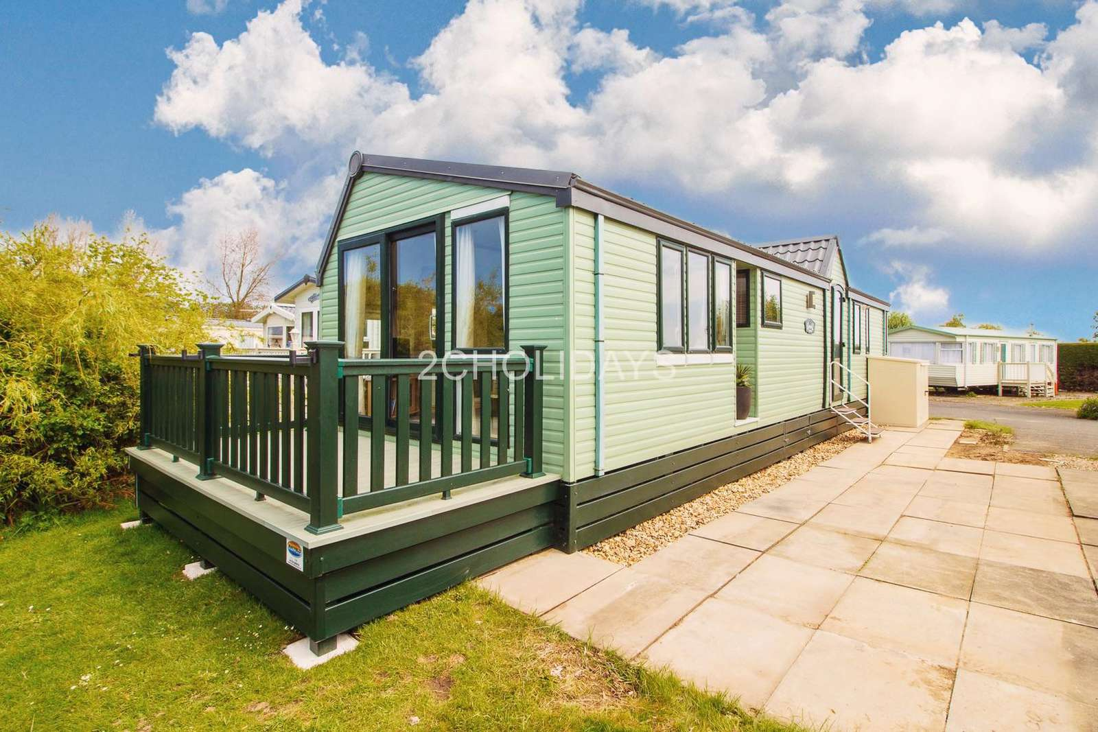 6 berth accommodation at Southview Holiday Park in Lincolnshire
