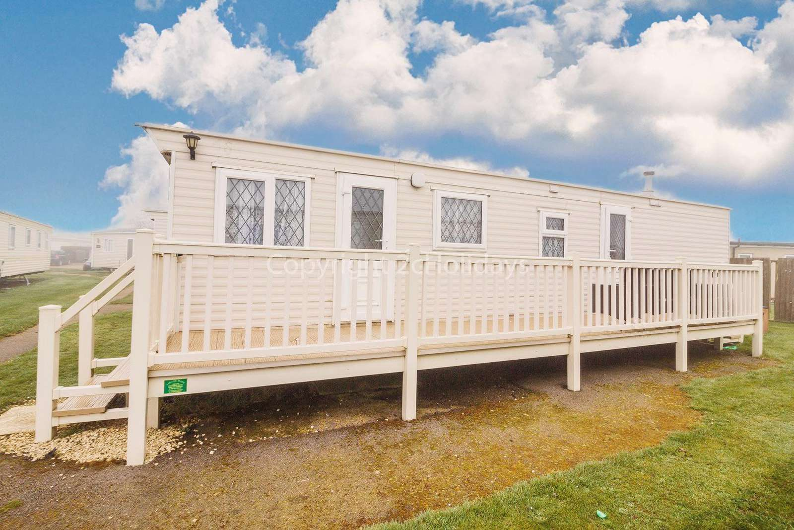 So many families have enjoyed their stay at this caravan
