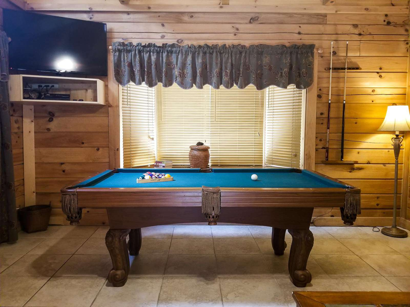 Pool Table Located in the Great Room