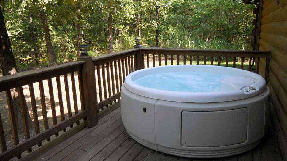 Relax in Private Hot Tub