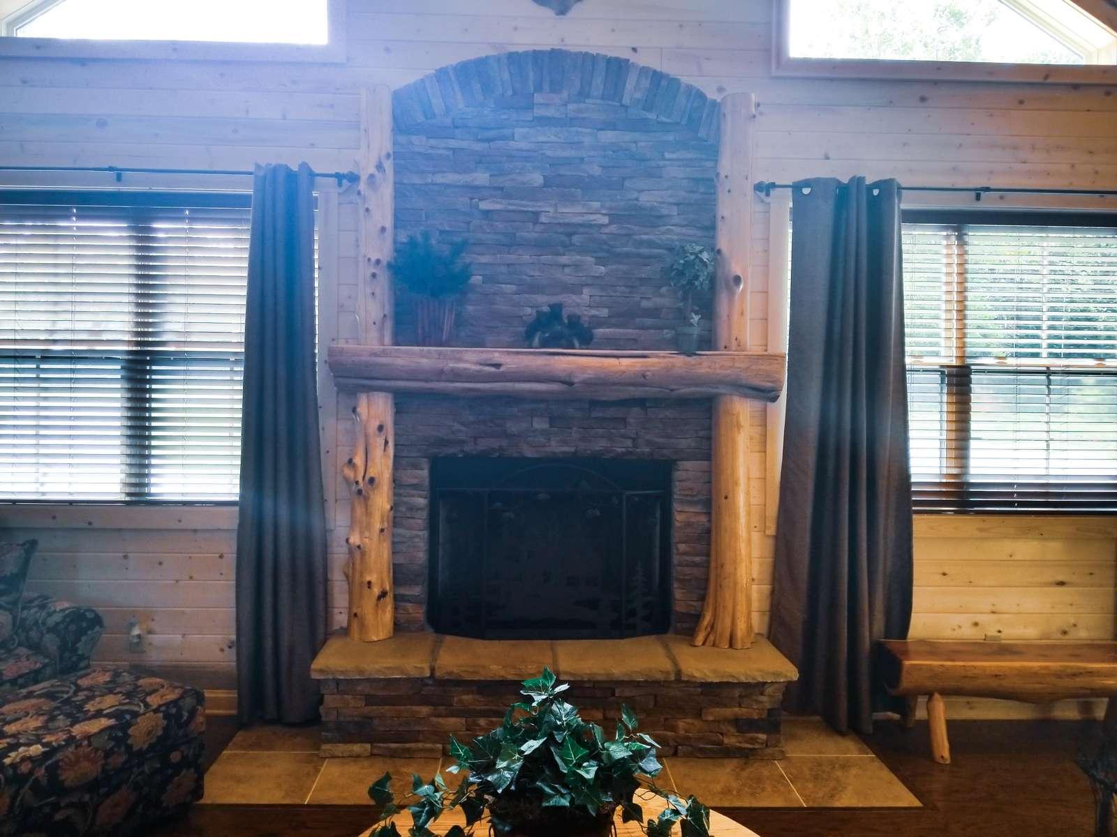 Woodburning Fireplace