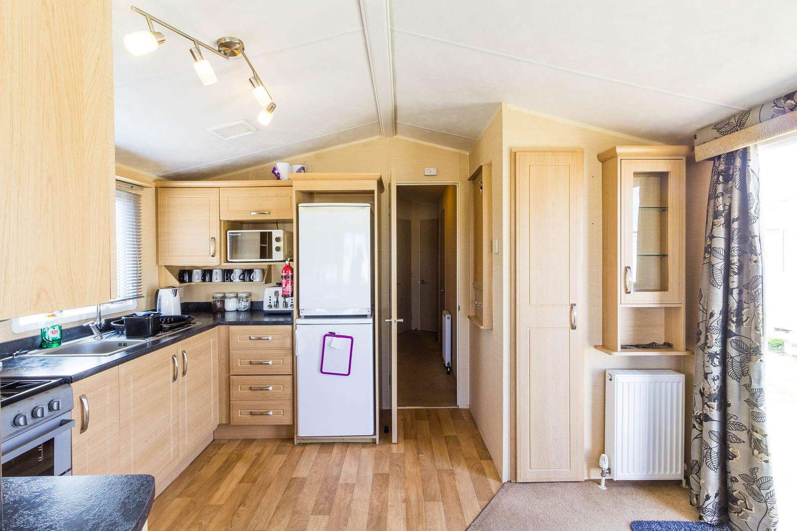 You can find a full size fridge and freezer in this self-catering accommodation!
