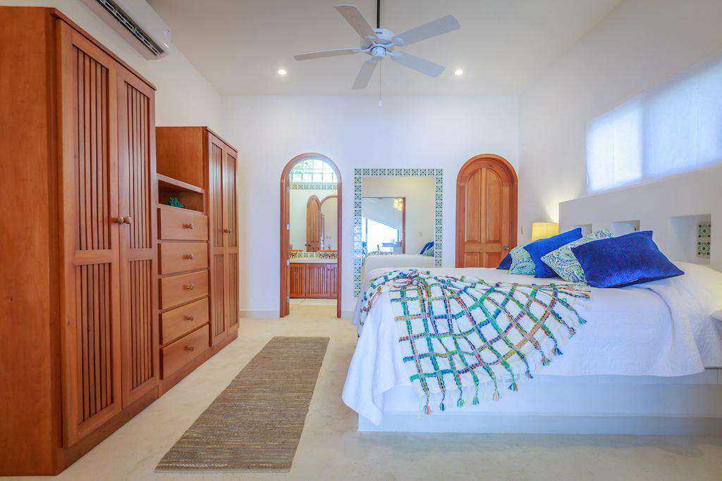 Both Master Bedrooms comes with closet space and an ensuite bathroom