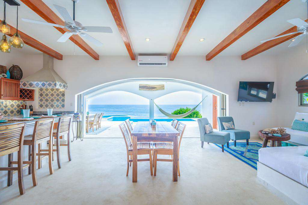 Unobstructed views from the living area