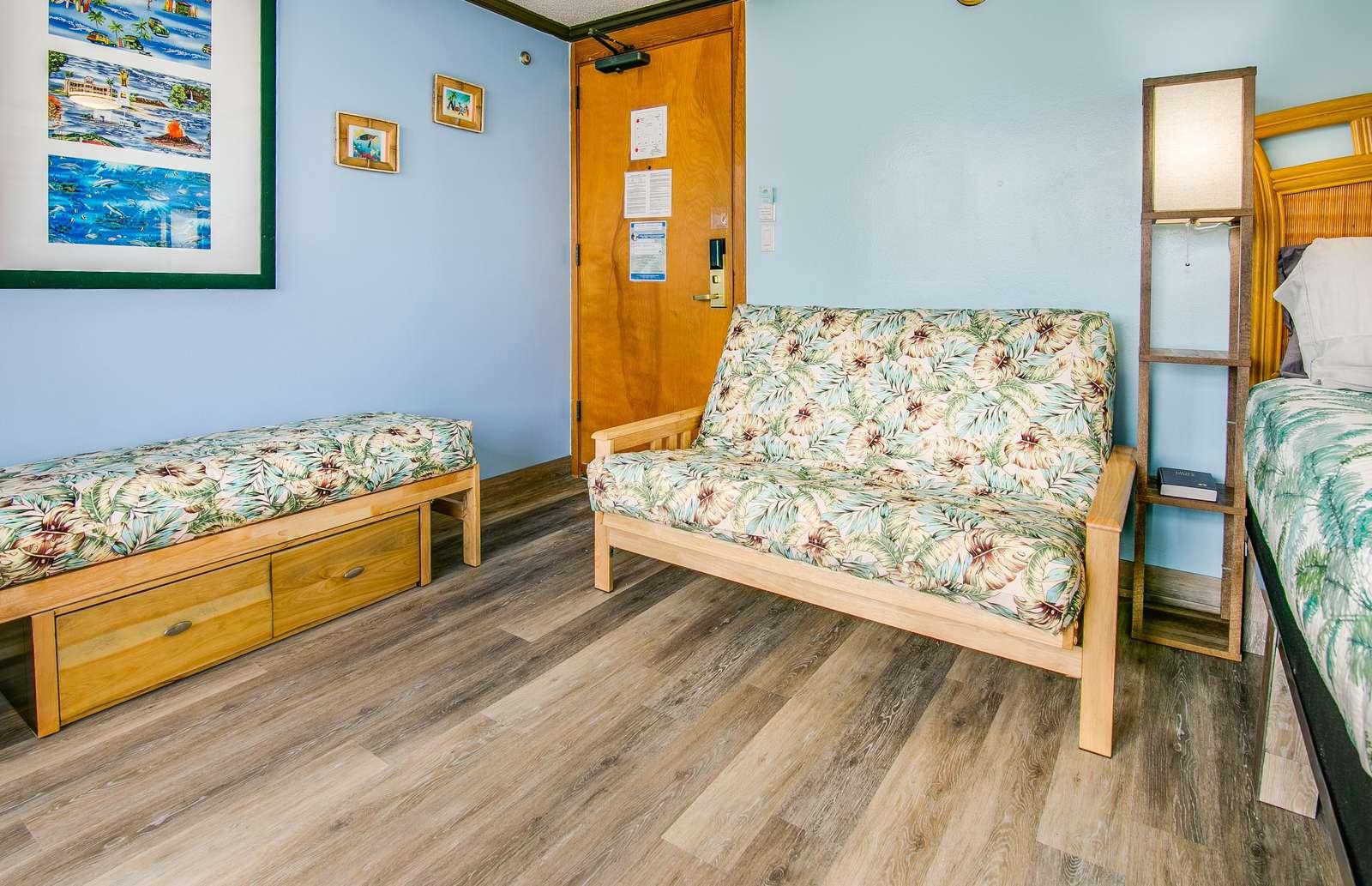 foldout sleeper futon