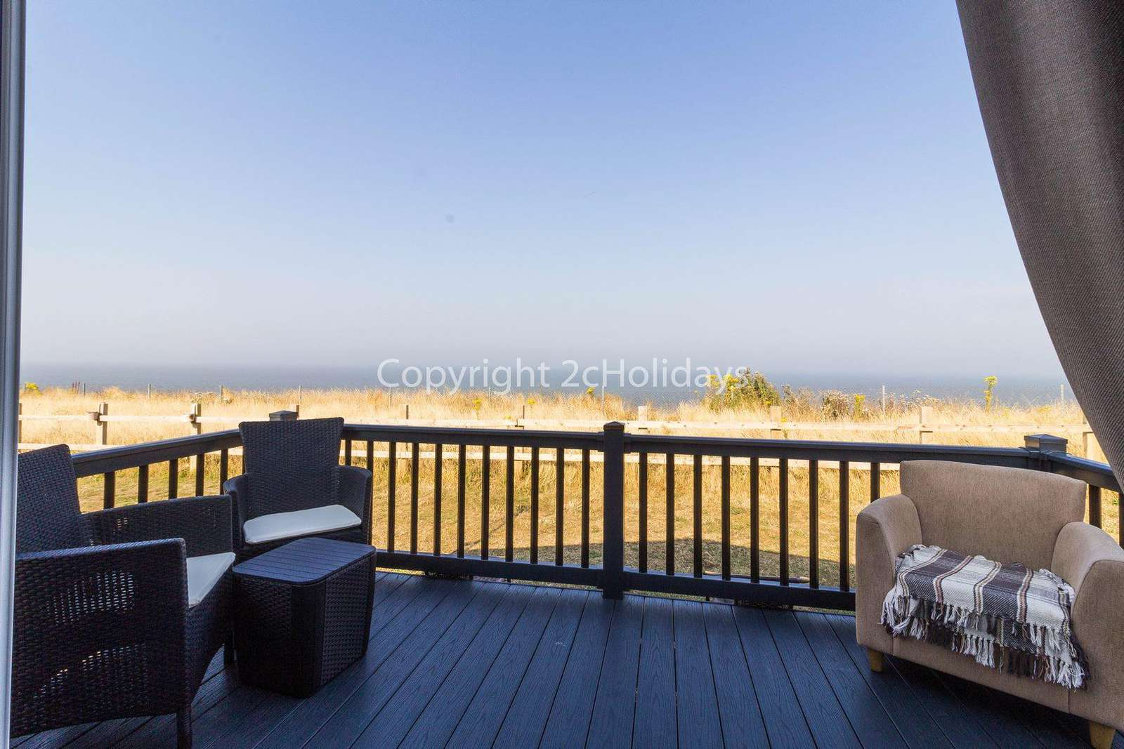 Enjoy the use of outdoor furniture whilst enjoying the full sea view! - property
