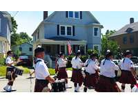 Sit on front porch and watch the annual July 4th parade pass by. Then walk  to ballfield: Seafood Festival, craft fair, children's games, and lobster races. thumb