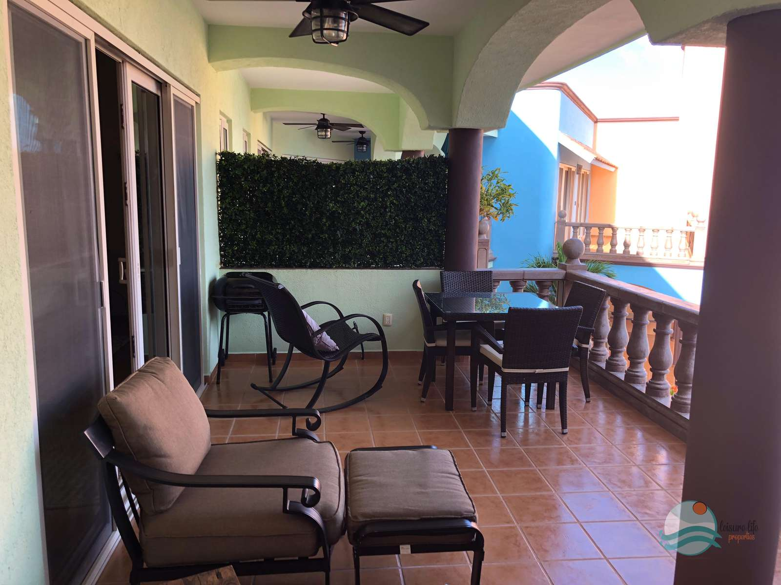 Terrace access from Living and Master Bedroom!