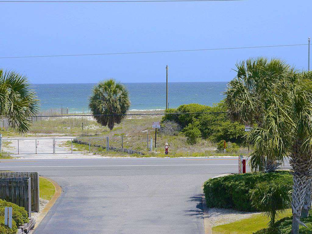 Gulf View from Front Porch of Condo - property