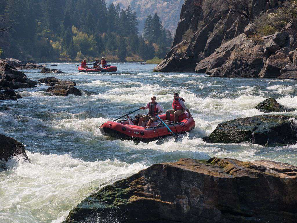 White water rafting just minutes away.
