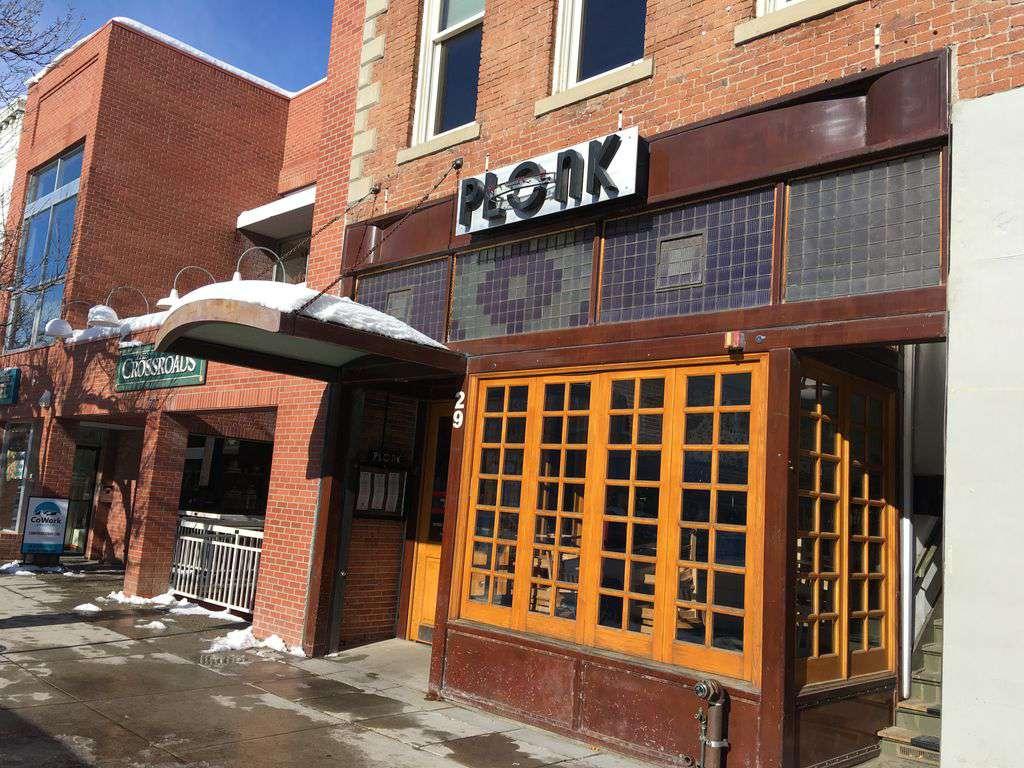 Popular wine bar downtown on main street.