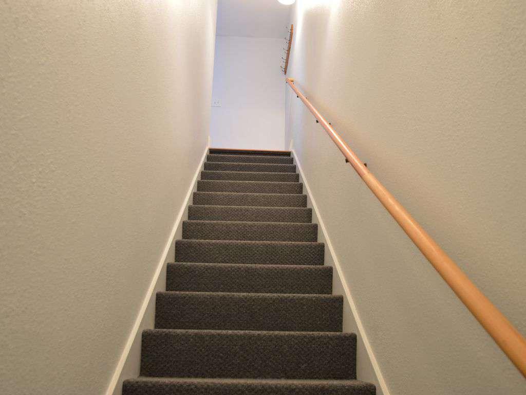 Upstairs to top level studio!