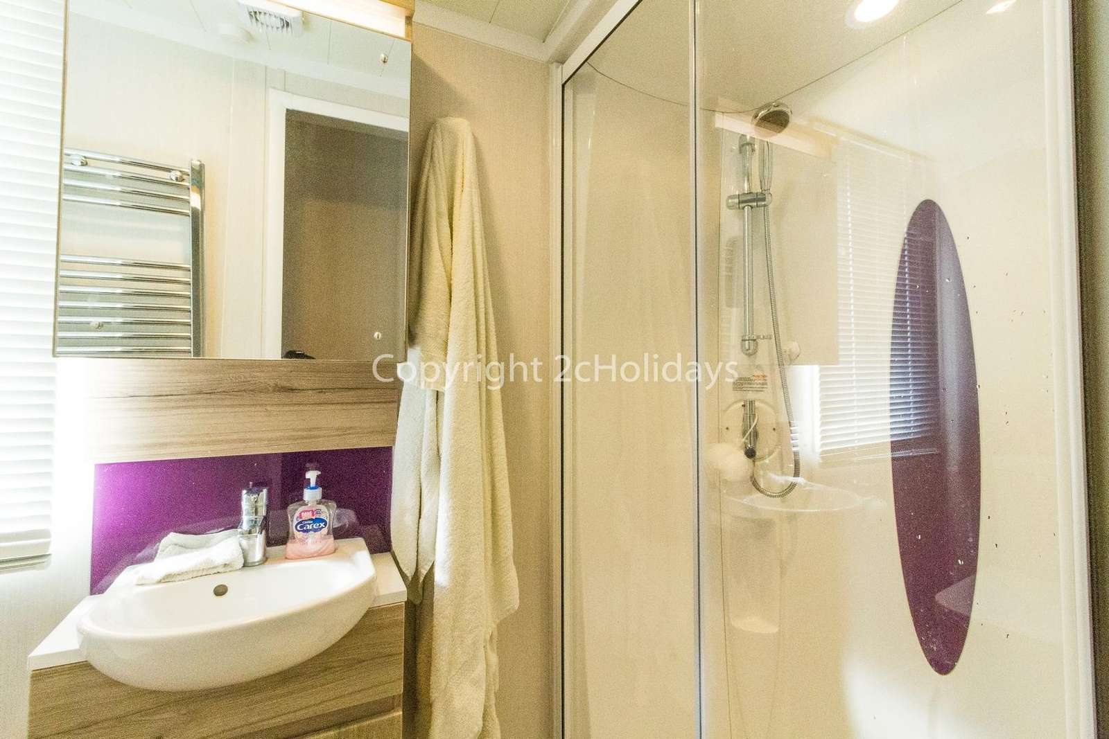 We ensure all our holiday homes are cleaned to high standard