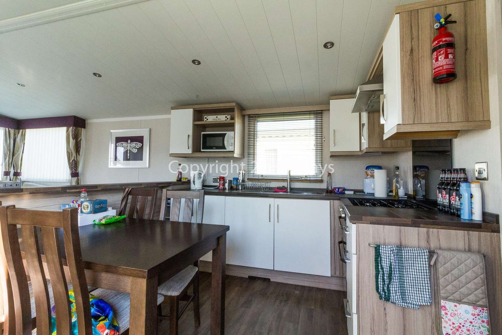 Come and stay in this private accommodation at Caister Haven Holiday Park