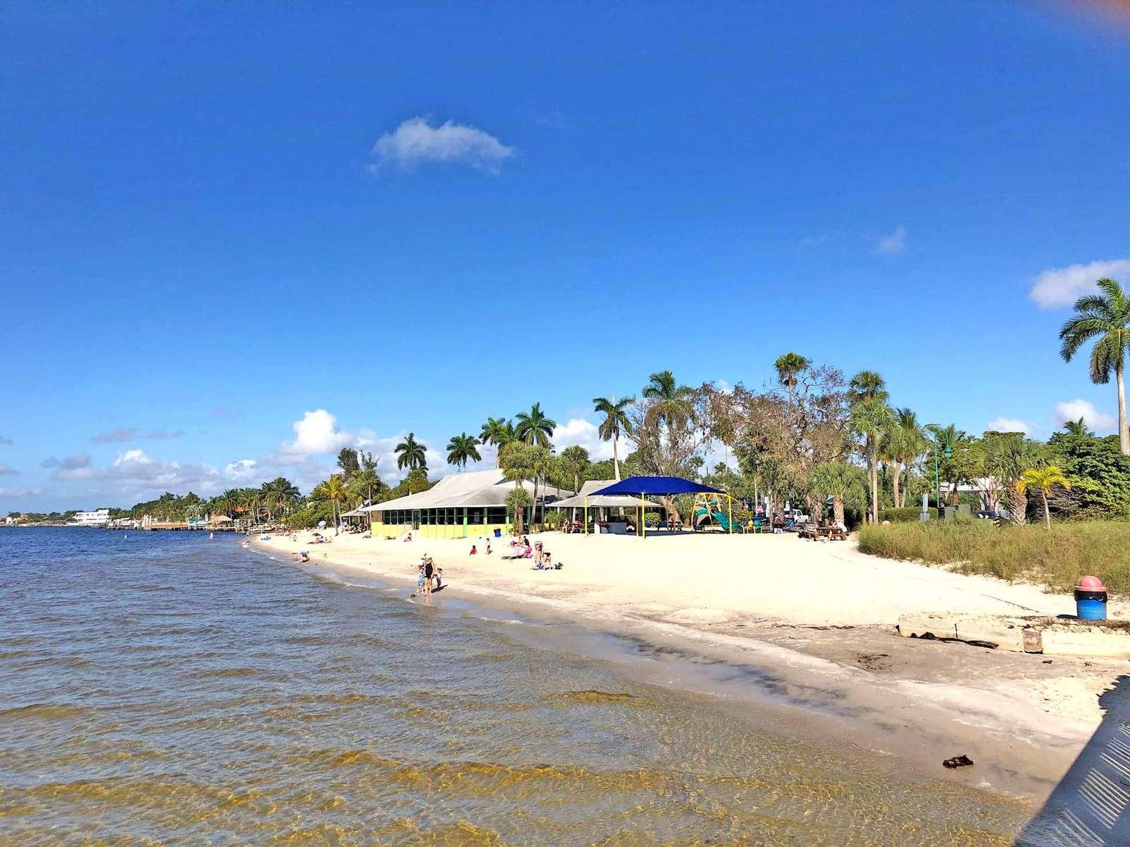 Yacht Club Beach Cape Coral