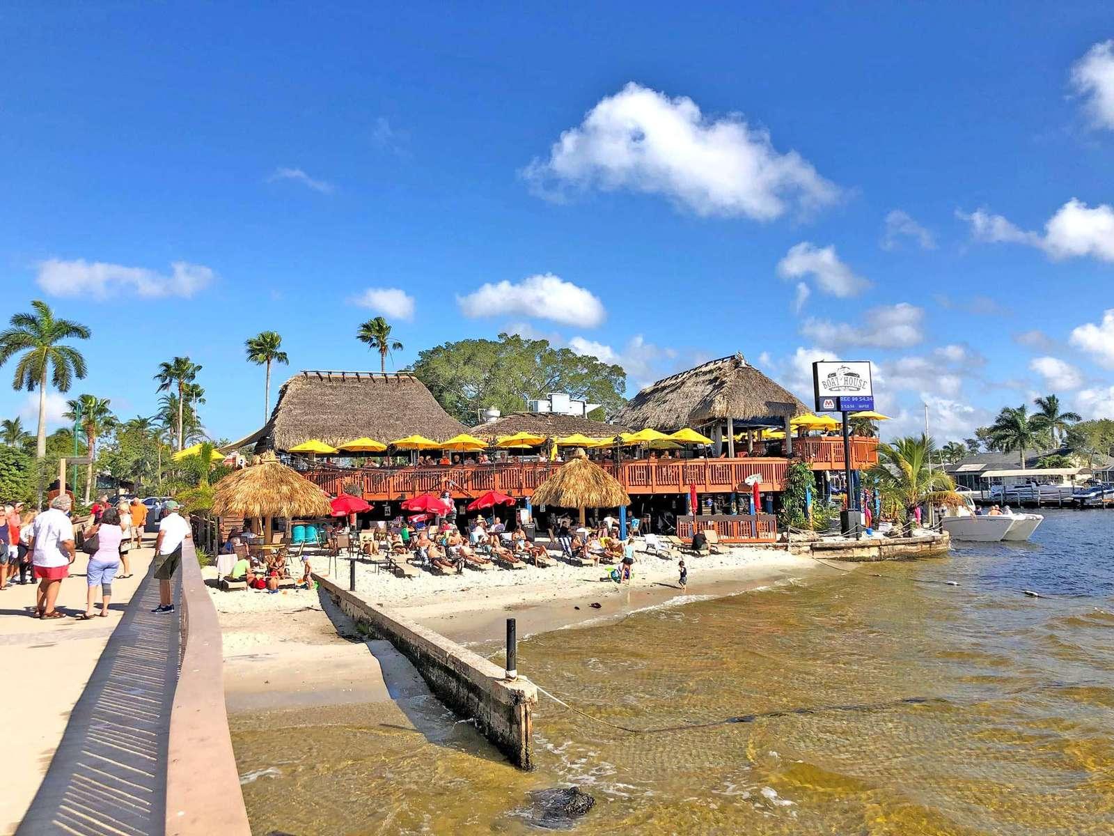 Tiki Restaurant Boat House Cape Coral