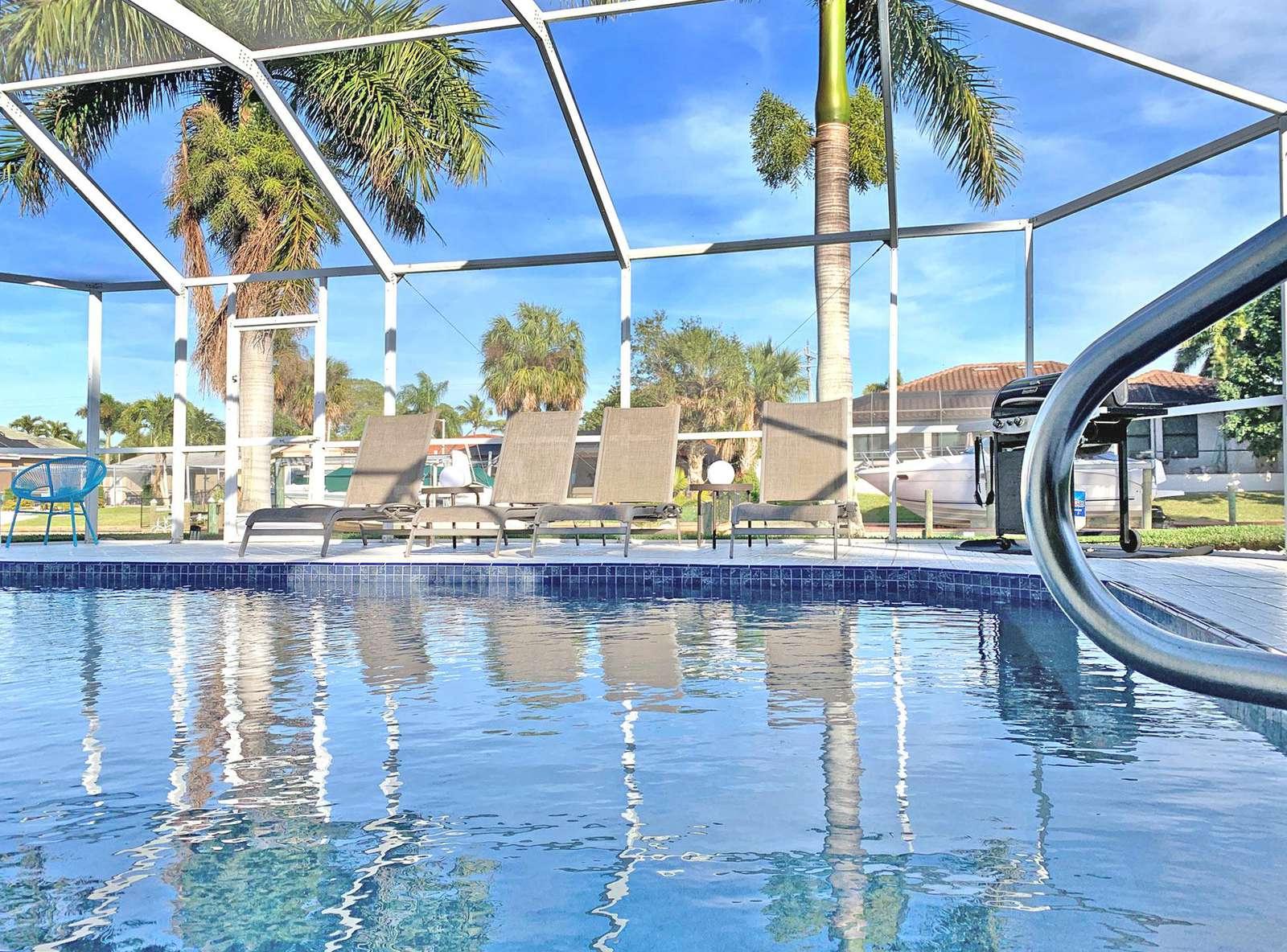 Villa Calusa Slip, Cape Coral- CapeCoralSusan.com / MyFlorida.se