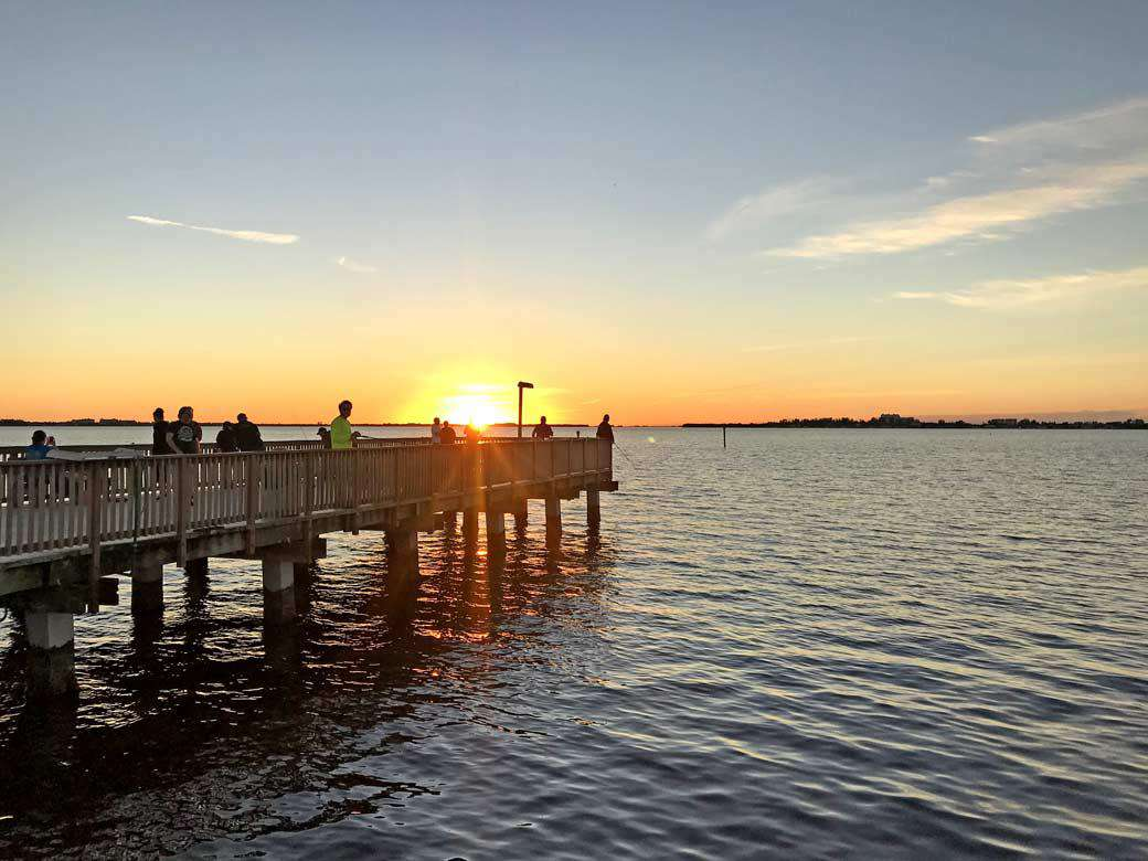 Cape Coral Yacht Club Fishing Pier