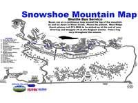 Snowshoe Mountain Map thumb