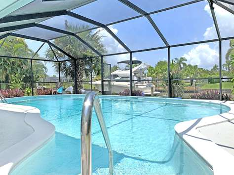 Villa White Heron - Pool - Vid Kanal - Cape Coral