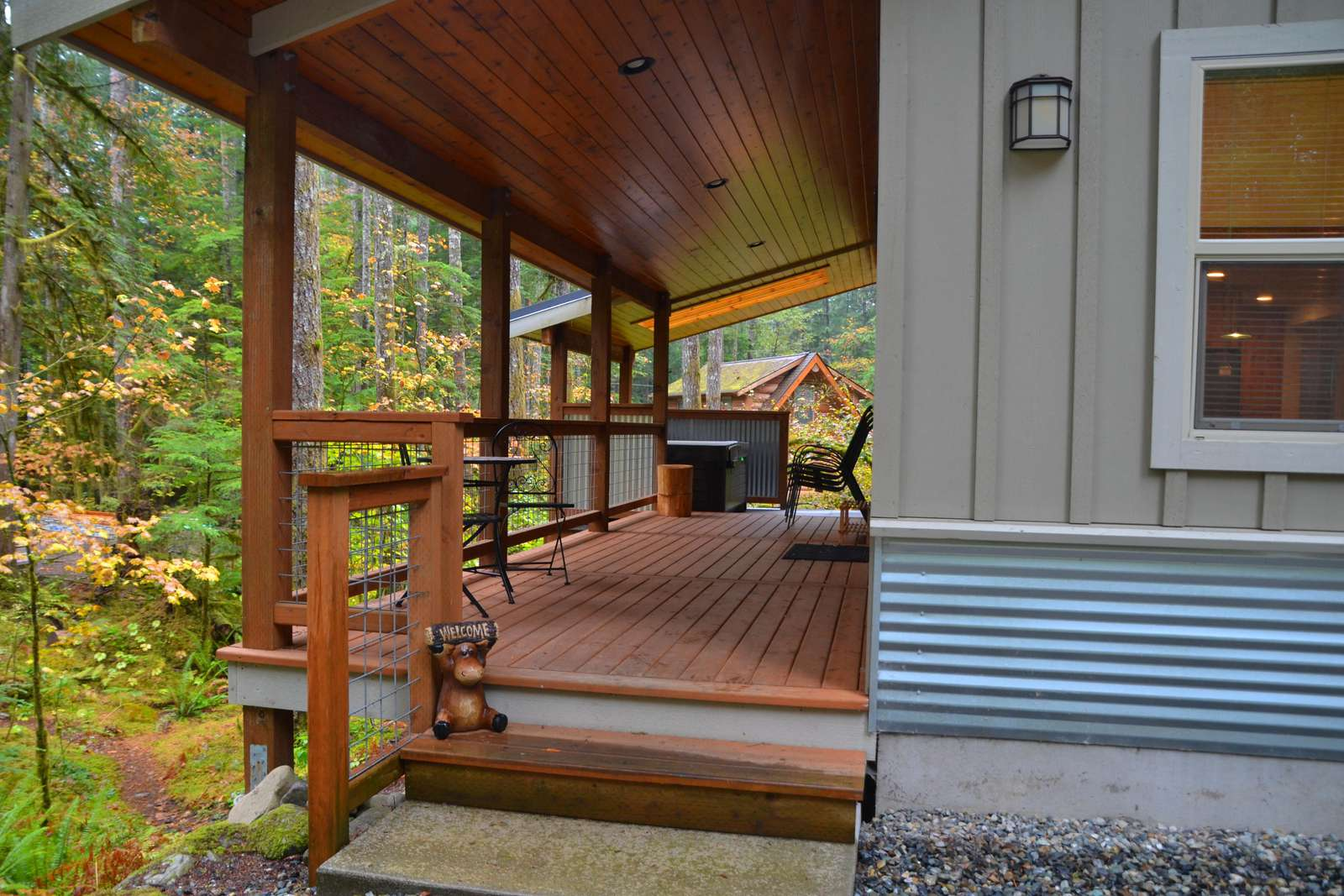 Entry - Covered Deck