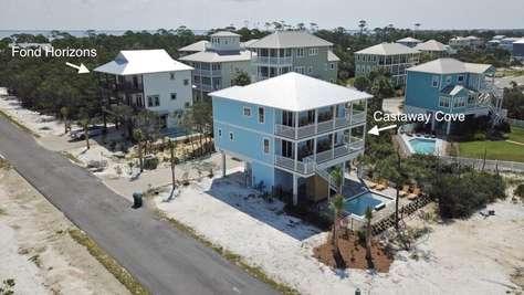 Castaway Cove & Fond Horizons