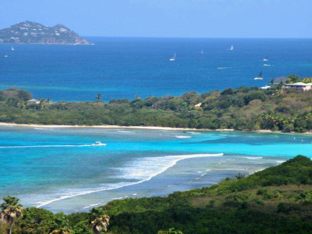 View To Lindquist Beach and St. John