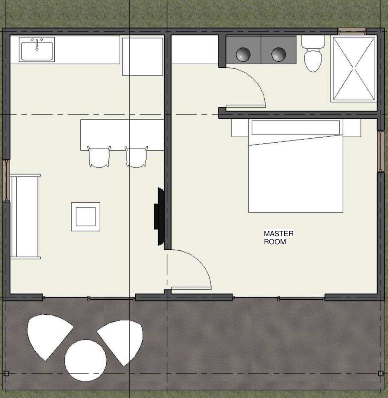 Casa Tranquila Floor Plan