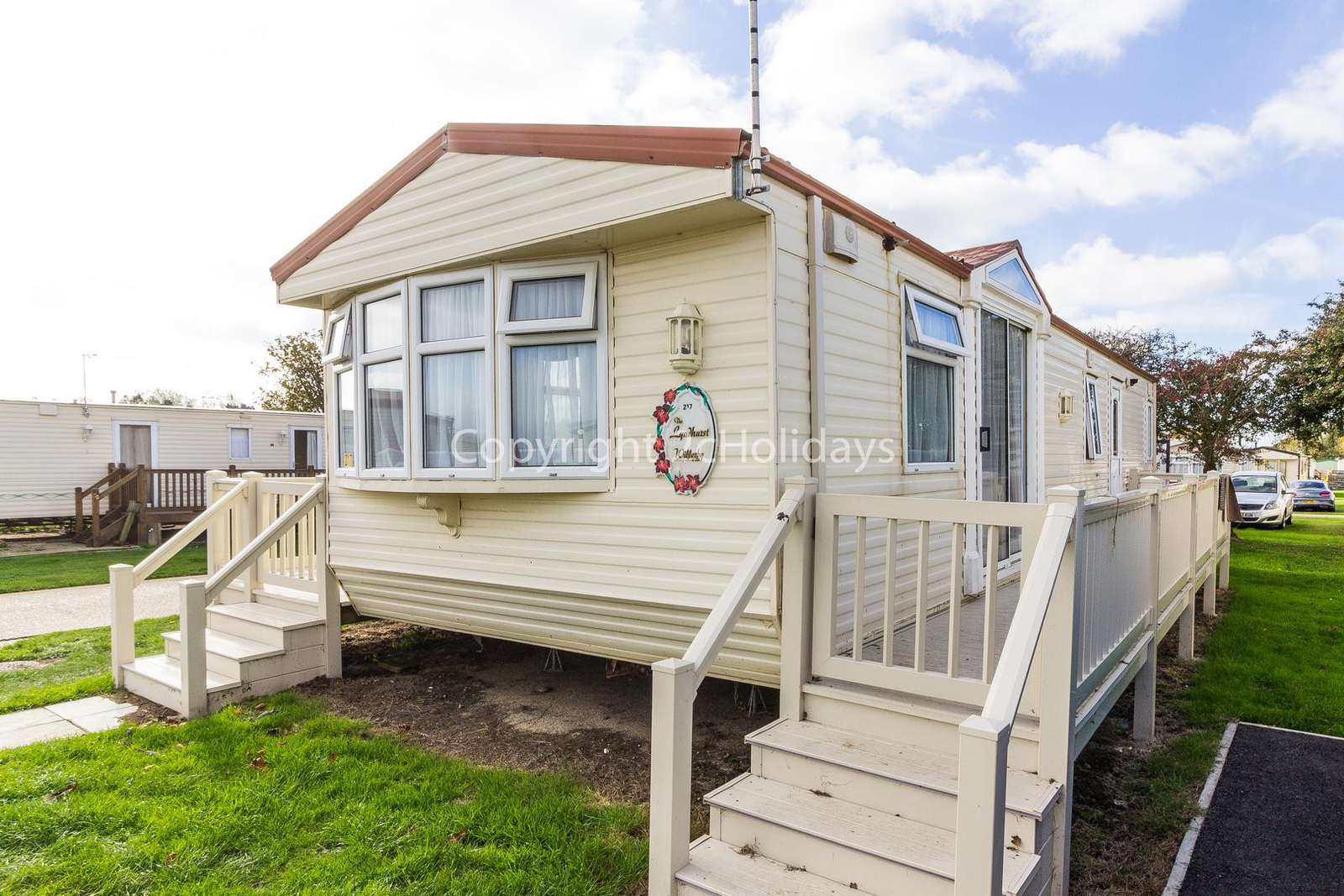 20217BS – Broadland, 2 bed, 6 berth caravan near amenities with. Ruby rated. - property