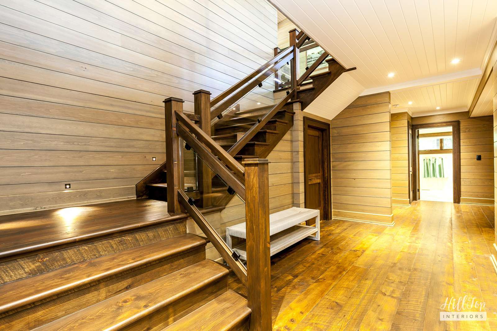 Staircase in Main Cottage