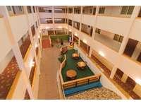 Enjoy Mountain Lodge's many common areas and atrium - spacious! thumb