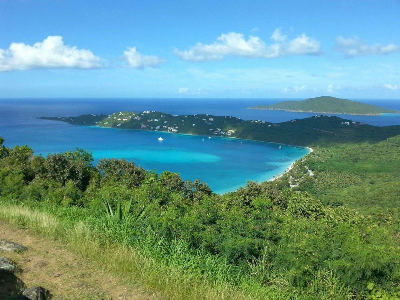 Magens Bay from Drake's Seat