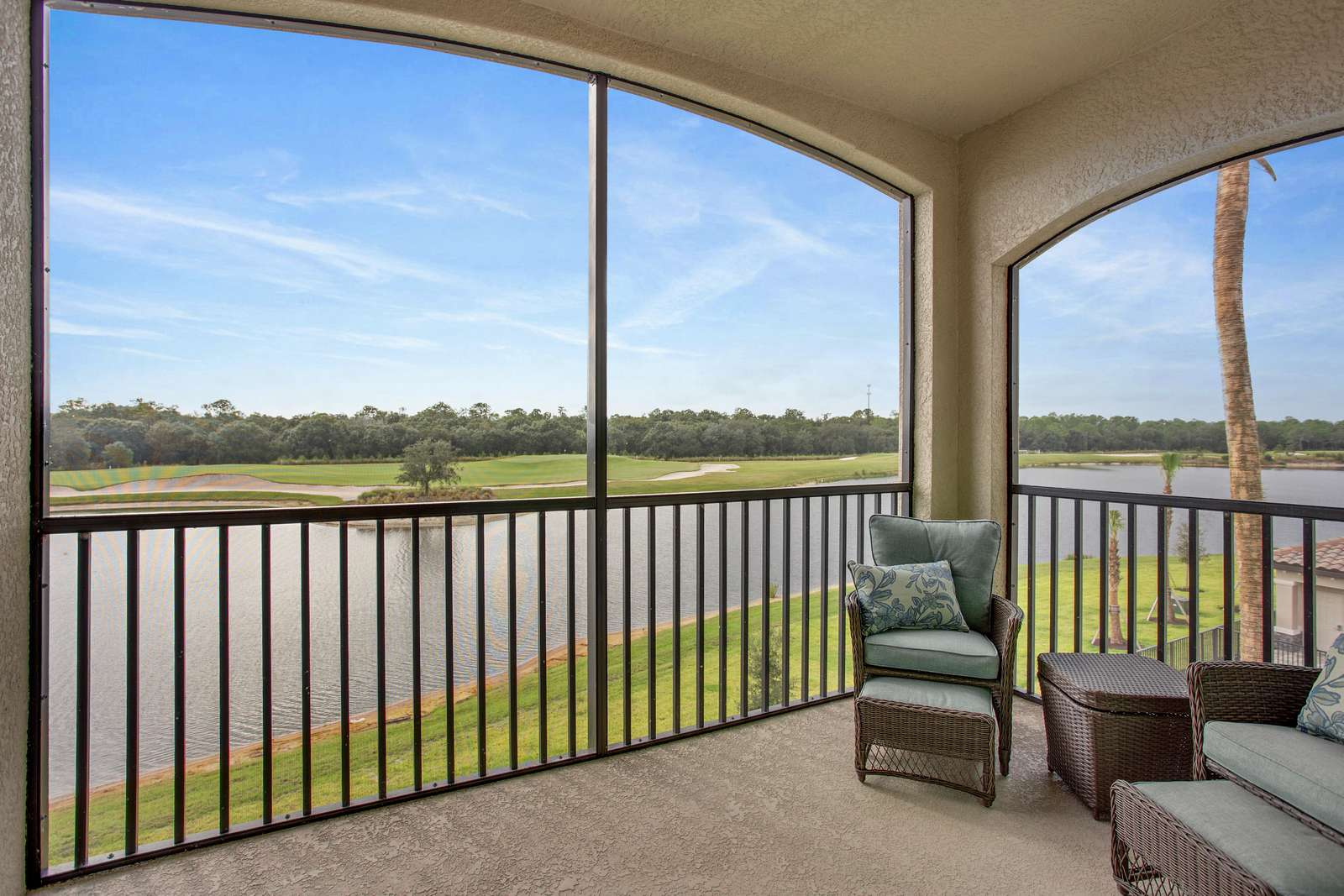 Beautiful View from the lanai golf and lake - property