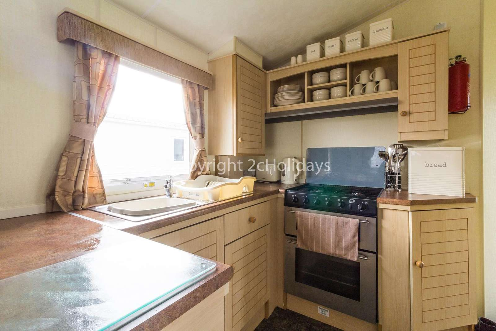 Come and stay in this private accommodation at Cherry Tree Holiday Park