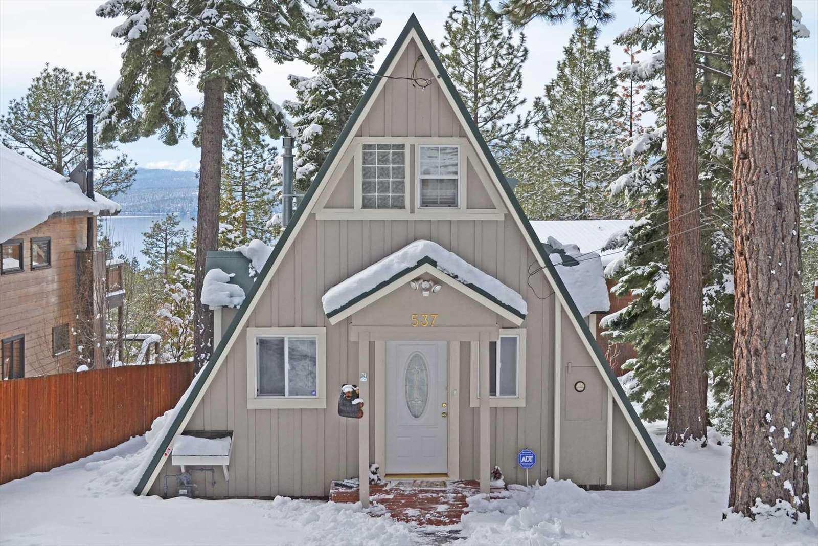 Classic Tahoe A Frame Tahoe Bear Haus