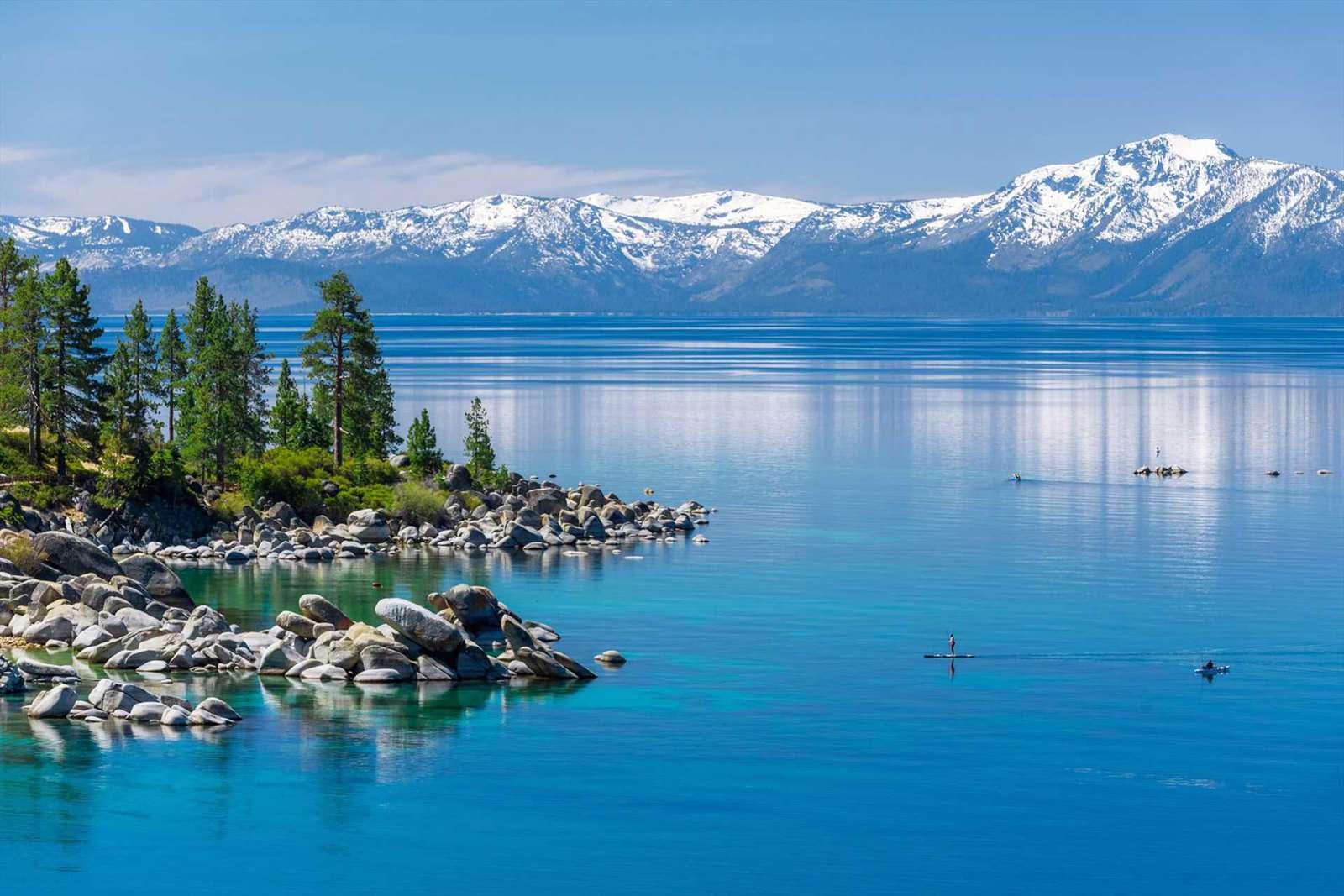 SUPing at Lake Tahoe