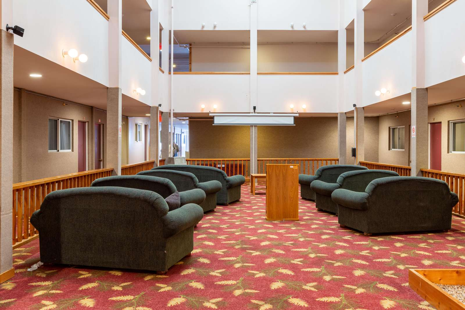 Common Area - Projector - Enjoy Free movies or meet up