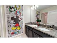 Share bathroom # 3 ( btw Mickey & Harry Potter room ) thumb