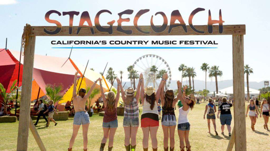 30 minutes to Stagecoach Festival grounds