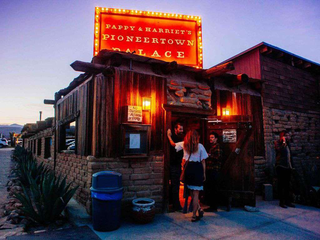 35 minutes to Pappy & Harriets, Pioneertown