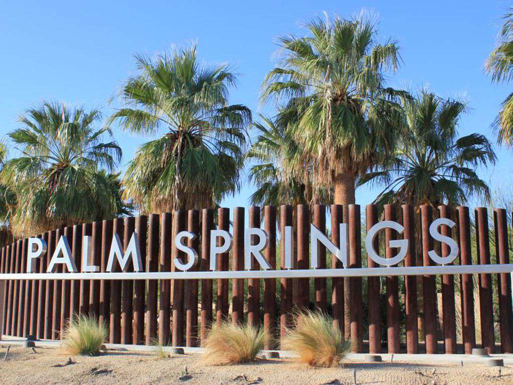 15 minutes to Palm Springs