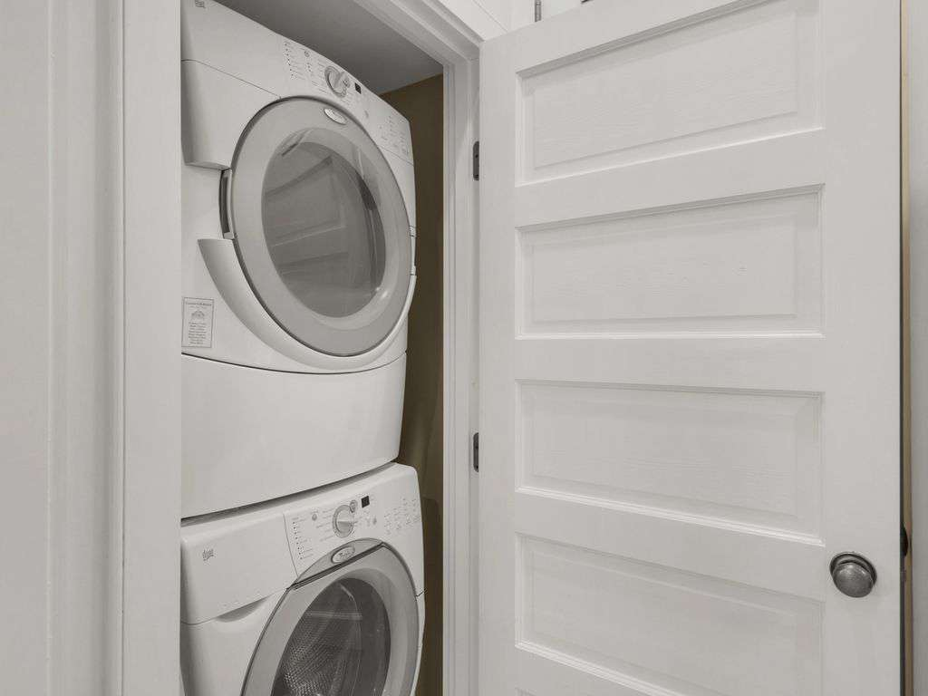Washer Dryer First Floor