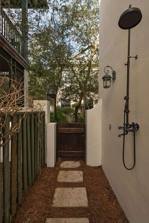 Outdoor Shower off the Boardwalk