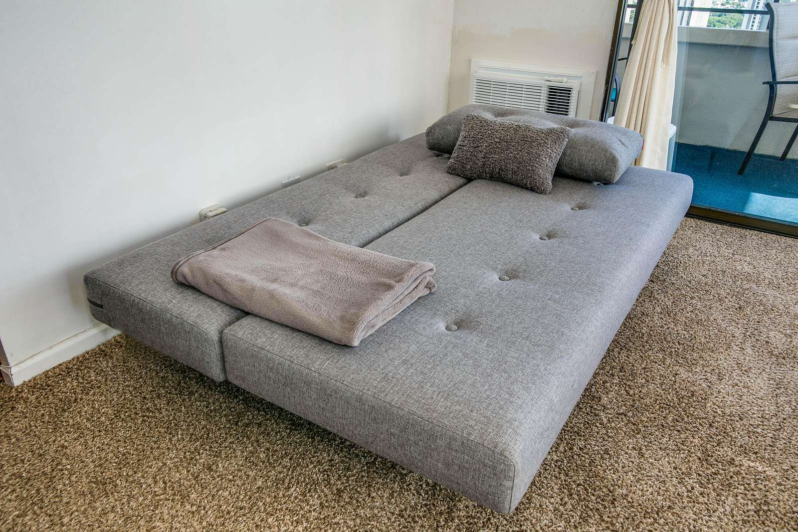 Brand New Comfy Futon - Sleeps two