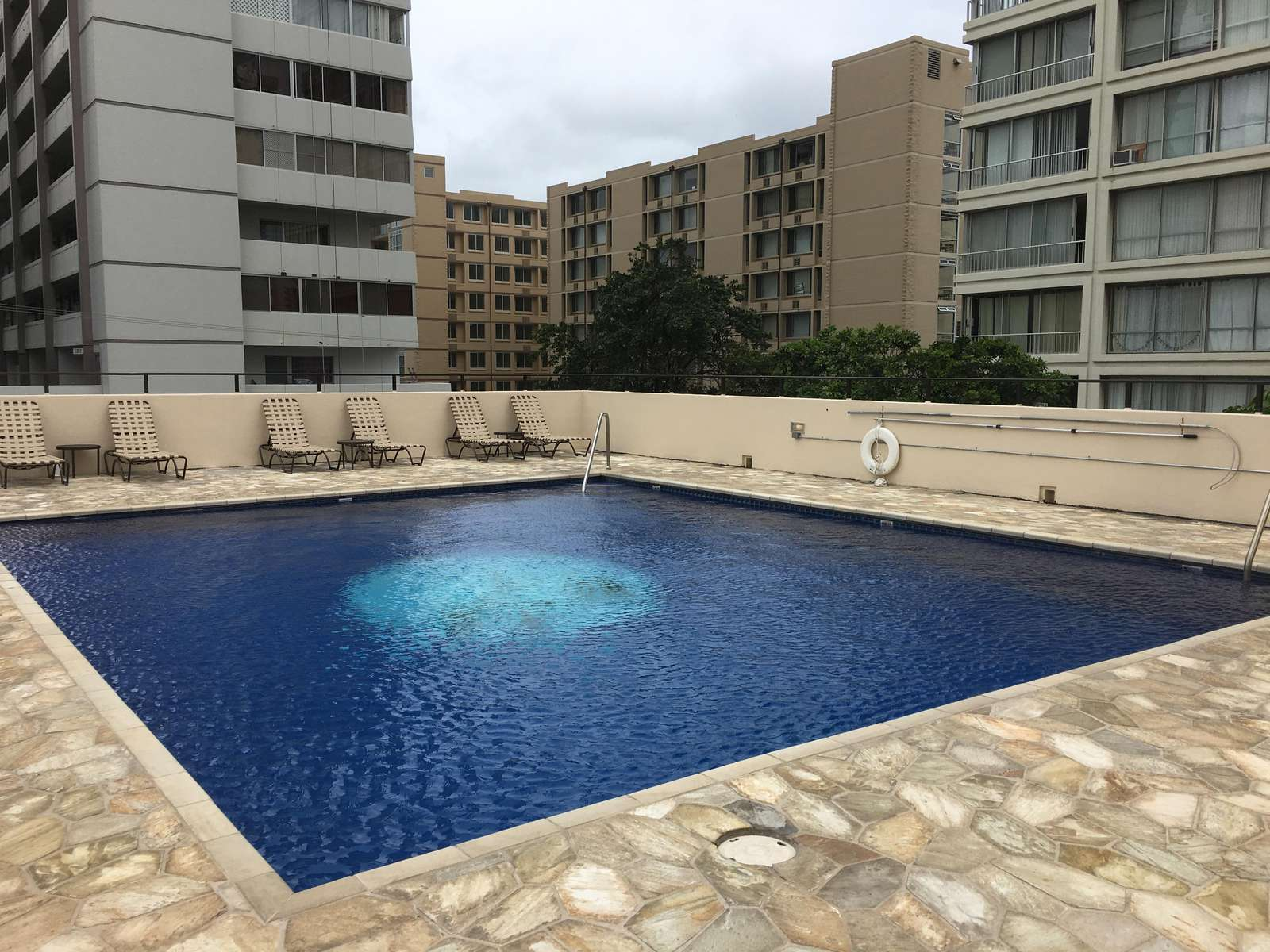 Large Communal Pool and sun deck
