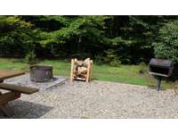 Picnic Table, Charcoal Grill, Firepit thumb