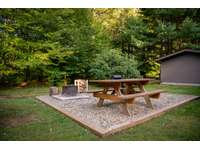Picnic Area with Fire Pit and Charcoal Grill thumb