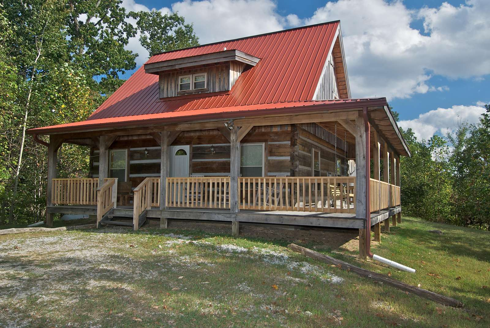 Dogwood Point Log Cabin - property
