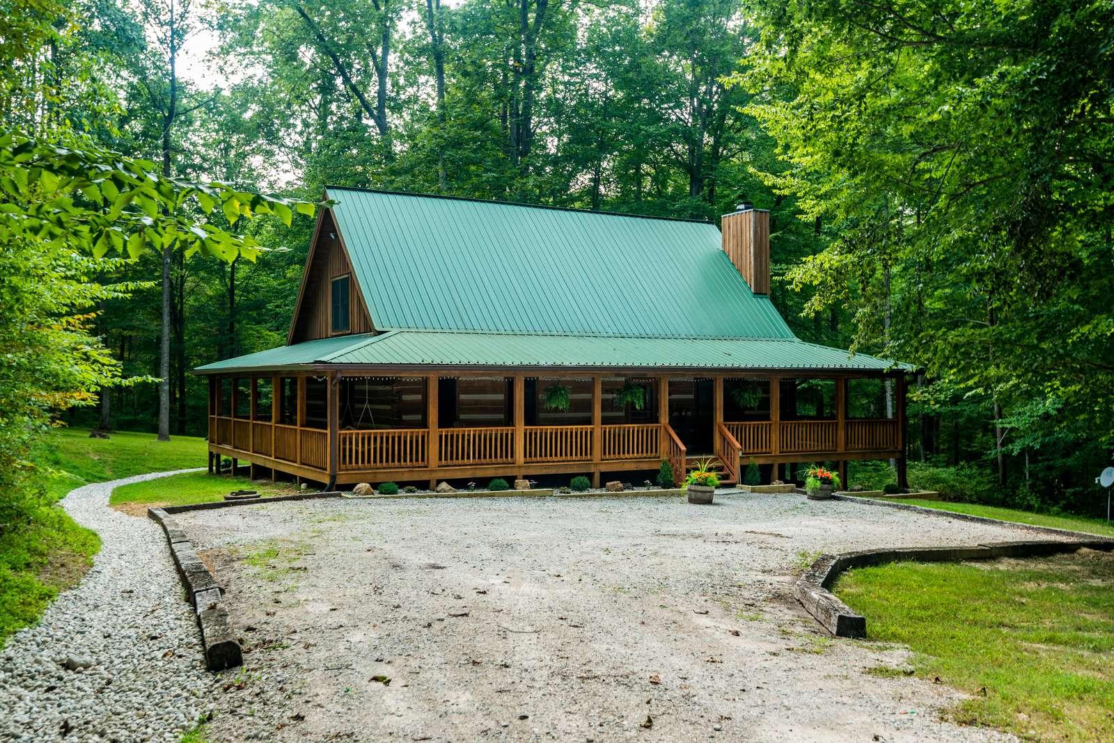 Great Escape Log Cabin - property